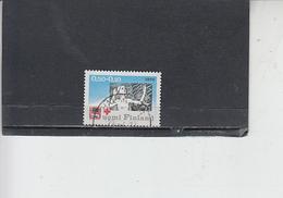 FINLANDIA  1970 - Unificato 640° -  Croce Rossa - Finlandia
