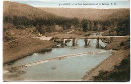 CPA - Carte Postale - Belgique - Chiny - Le Pont Saint Nicolas Et Le Barrage ( M7347) - Chiny