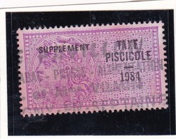 T.F Taxe Piscicole N°250 - Fiscaux