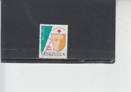 VENEZUELA  1974 - Yvert  959° - Croce Rossa - Venezuela