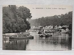 Bougival. Le Pont. La Seine. Quai Sganzin - Bougival