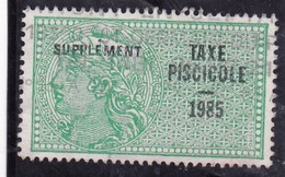 T.F Taxe Piscicole N°258 - Fiscaux