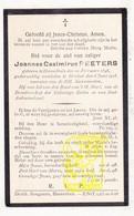 DP Joannes Casimirus Peeters ° Herentals 1848 † Mortsel 1918 - Images Religieuses