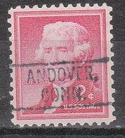 USA Precancel Vorausentwertung Preo, Locals Connecticut, Andover 802 - Vereinigte Staaten