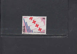 ITALIA  1980 - Sassone  1492° - Croce Rossa - 1971-80: Usati