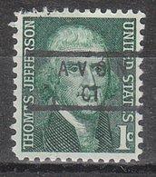 USA Precancel Vorausentwertung Preo, Locals Connecticut, Avon 840 - Vereinigte Staaten