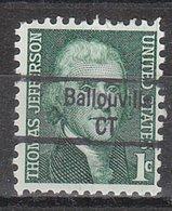 USA Precancel Vorausentwertung Preo, Locals Connecticut, Ballouville 843 - Vereinigte Staaten