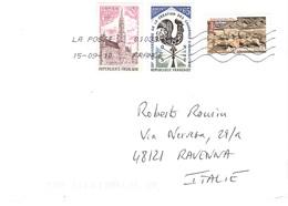 LETTERA X ITALY CON EUROPA 1973 - Storia Postale