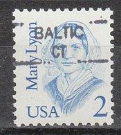 USA Precancel Vorausentwertung Preo, Locals Connecticut, Baltic 835,5 - Vereinigte Staaten