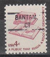 USA Precancel Vorausentwertung Preo, Locals Connecticut, Bantam 828 - Vereinigte Staaten