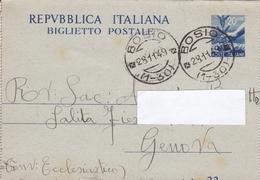Un Annullo Per Paese Bosio (Alessandria) Frazionario 1-30 - Storia Postale