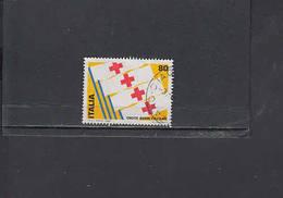 ITALIA  1980 - Sassone  1493° - Croce Rossa - 1971-80: Usati