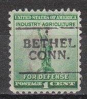 USA Precancel Vorausentwertung Preo, Locals Connecticut, Bethel 701 - Vereinigte Staaten