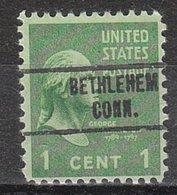 USA Precancel Vorausentwertung Preo, Locals Connecticut, Bethlehem 734 - Vereinigte Staaten