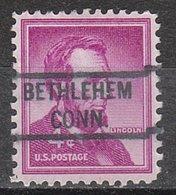 USA Precancel Vorausentwertung Preo, Locals Connecticut, Bethlehem 821 - Vereinigte Staaten