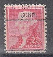 USA Precancel Vorausentwertung Preo, Locals Connecticut, Bloomfield 804 - Vereinigte Staaten