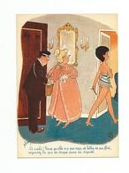 Jean Bellus EN SUIVANT..ET VOILA ! PARCE QU'ELLE N'A PAS RECU DE LETTRE DE SON FLIRT, - Autres Illustrateurs