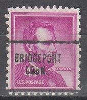 USA Precancel Vorausentwertung Preo, Locals Connecticut, Bridgeport 704 - Vereinigte Staaten
