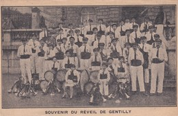 """94 Souvenir Du """"Reveil De Gentilly"""", Fanfare, Trés Animée - Musique Et Musiciens"""
