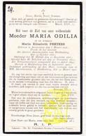 DP EZ Maria Elisabeth Peeters - EZ Moeder Overste M. Odilia ° Antwerpen 1848 † Klooster Huldenberg 1920 - Images Religieuses