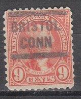 USA Precancel Vorausentwertung Preo, Locals Connecticut, Bristol 641-563 - Vereinigte Staaten