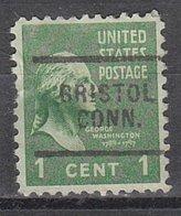 USA Precancel Vorausentwertung Preo, Locals Connecticut, Bristol 703 - Vereinigte Staaten