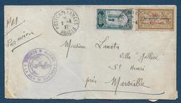 Poste Aux Armées  AGADIR   1927 - Militaire Stempels Vanaf 1900 (buiten De Oorlog)