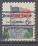 USA Precancel Vorausentwertung Preo, Locals Connecticut, Brookfield Center 826 - Vereinigte Staaten