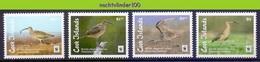 Nfa013s WWF FAUNA VOGELS BRISTLE-THIGHED CURLEW BIRDS VÖGEL AVES OISEAUX COOK ISLANDS 2017 PF/MNH - W.W.F.