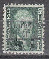USA Precancel Vorausentwertung Preo, Locals Connecticut, Centerbrook 841 - Vereinigte Staaten
