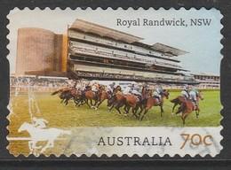 Australia  2014 Australian Racecourses 70 C Multicoloured SW 3411 O Used - 2010-... Elizabeth II