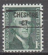 USA Precancel Vorausentwertung Preo, Locals Connecticut, Chashire 841 - Vereinigte Staaten