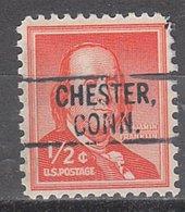 USA Precancel Vorausentwertung Preo, Locals Connecticut, Chester 802 - Vereinigte Staaten