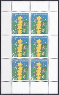 Tschechien Czechia 2000 Organisationen Postwesen Euorpa CEPT Sternenturm Sterne Stars Türme Towers Kinder, Mi. 256 ** - Ungebraucht