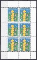 Tschechien Czechia 2000 Organisationen Postwesen Euorpa CEPT Sternenturm Sterne Stars Türme Towers Kinder, Mi. 256 ** - Tschechische Republik