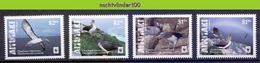 Nfa016s WWF FAUNA VOGELS CHATHAM ALBATROSS BIRDS VÖGEL AVES OISEAUX AITUTAKI 2016 PF/MNH - W.W.F.