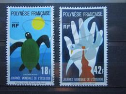 VEND BEAUX TIMBRES DE POLYNESIE N° 108 + 109 , XX !!! - Neufs