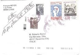 LETTERA X ITALY - Storia Postale