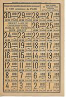 Militaria / Ravitaillement Juin 1919 / Feuille De  Tickets 30 G De Pain - 1914-18