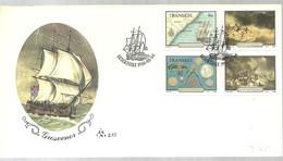 FDC TRANSKEI 1988 - Schiffe