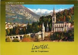 Lot De 10 CPSM LOURDES-Toutes Scannées-7      L2779 - Cartes Postales