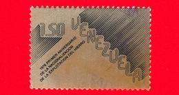 VENEZUELA - Usato -  1977 - 1 Anniv. Della Nazionalizzazione Dell'indusreia Del Ferro - 1.50 - Venezuela
