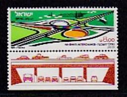 ISRAEL, 1981, Unused Hinged Stamp(s), With Tab, Ha-Shiv'a Interchange, SGnr. 824, Scannr. 17515 - Israel