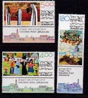 ISRAEL, 1979, Unused Hinged Stamp(s), With Tab, Children Art, SGnr. 766-768, Scannr. 17498 - Israel
