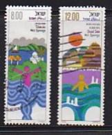 ISRAEL, 1979, Used Stamp(s), Health Resorts, SGnr. 760-761, Scannr. 17496 - Israel