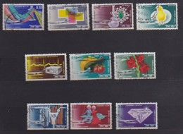 ISRAEL, 1968, Used Stamp(s), Without Tab, Airmail E Xport Products  SGnr.377-386, Scannr. 17520 - Israel
