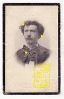 DP Foto - Kunstenaar Glazenier Glasschilder  Arthur Wybo ° Veurne 1868 † Schaarbeek 1914 / Atelier Jules Capronnier - Devotieprenten