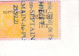 T.F Taxe Piscicole N°211 - Fiscaux
