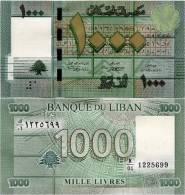 LEBANON      1000 Livres      P-90a    2011   UNC - Liban