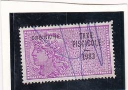 T.F Taxe Piscicole N°241 - Fiscaux